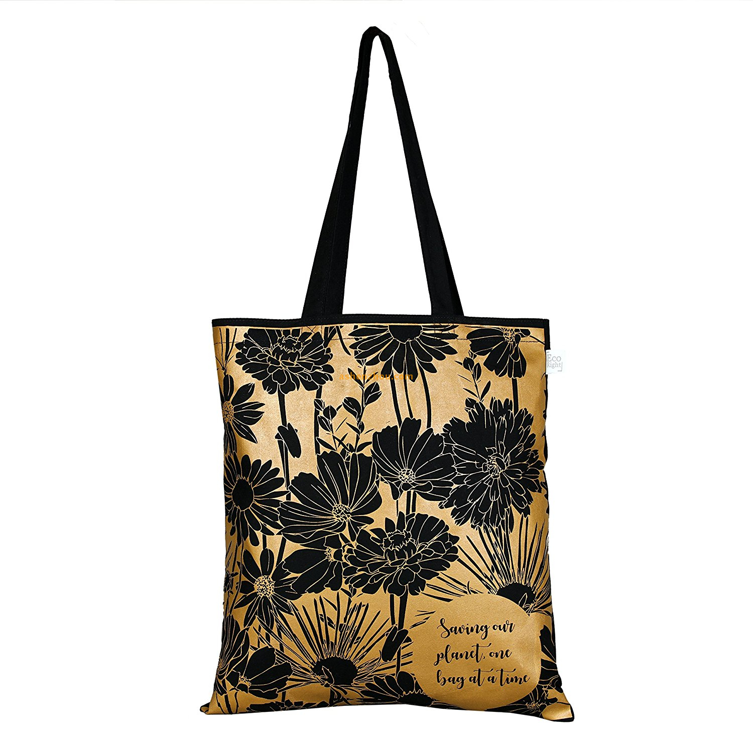 Factory supply wholesale custom High Quality personalized cotton fabric tote bags printing with zipper for shopping