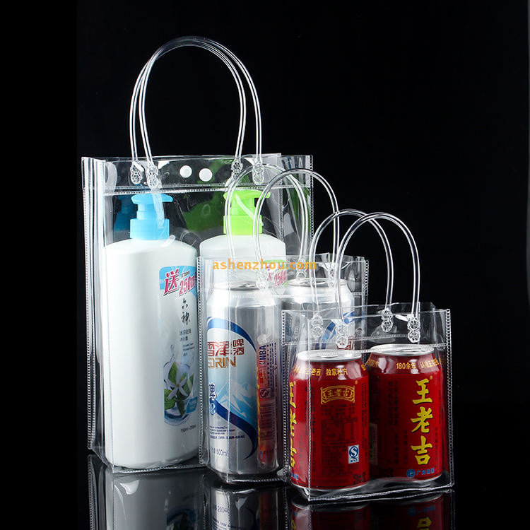 Factory price wholesale custom transparent waterproof clear resistant case PVC clean pouch bags