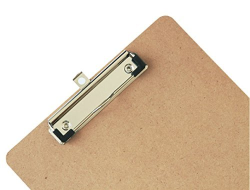 New design cheapest custom discount wooden clipboard A4 paper stationery clipboard file folder for school