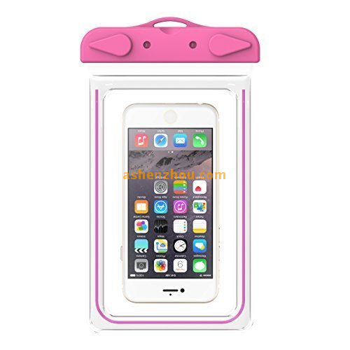 PVC waterprooof phone bag for iphone 6, for best iphone 6 waterproof case, cell phone waterproof pouch for universal smartphone