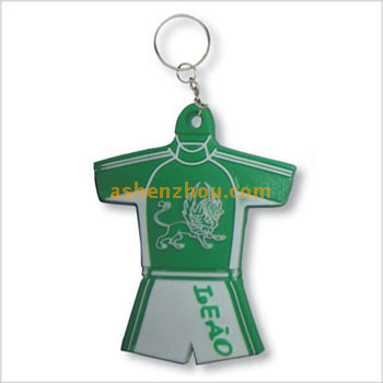 Promotional wholesale custom funny pvc material keychains with personalized key rings bulk online store
