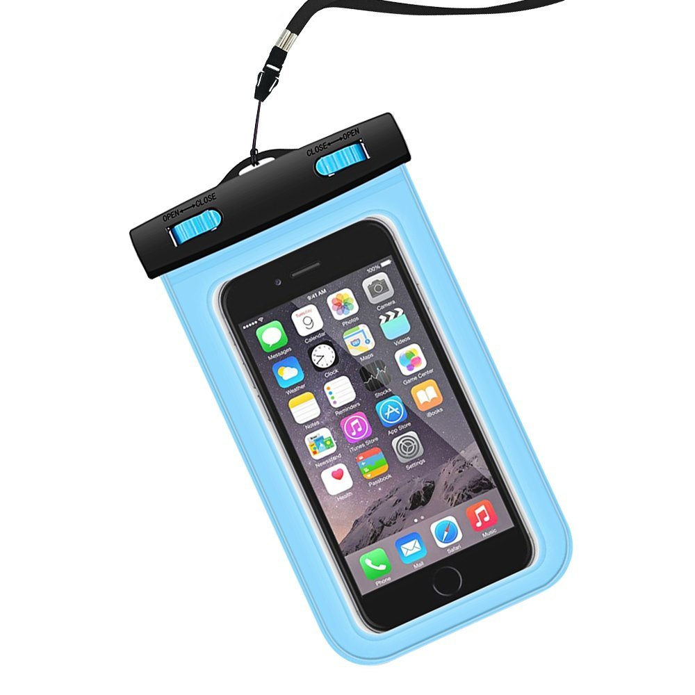 For apple iphone 6 waterproof case,universal clear transparent cell phone case waterproof cover dry bag, mobile phone accessories