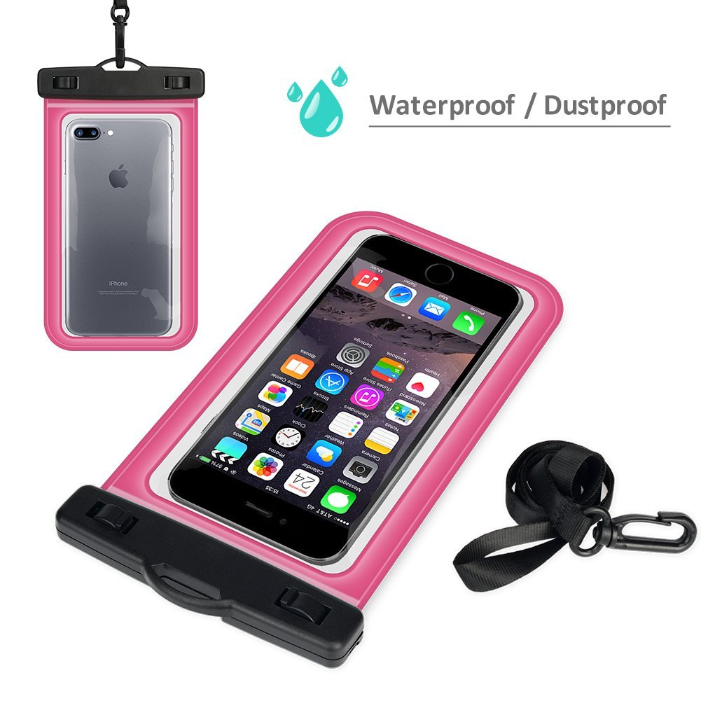Best waterproof cell phone pouch heavy-duty universal waterproof cell phone dry bag pouch for apple iPhone 7 6 5, for Samsung S8 S7 S6