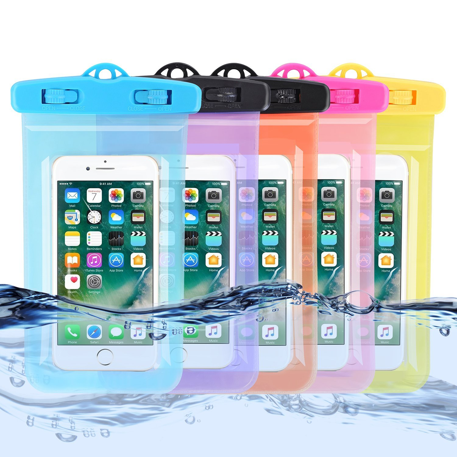 Where to buy waterproof phone case bag newest custom protective mobile phone pvc waterproof phone bag for for iphone 6/6s/SE