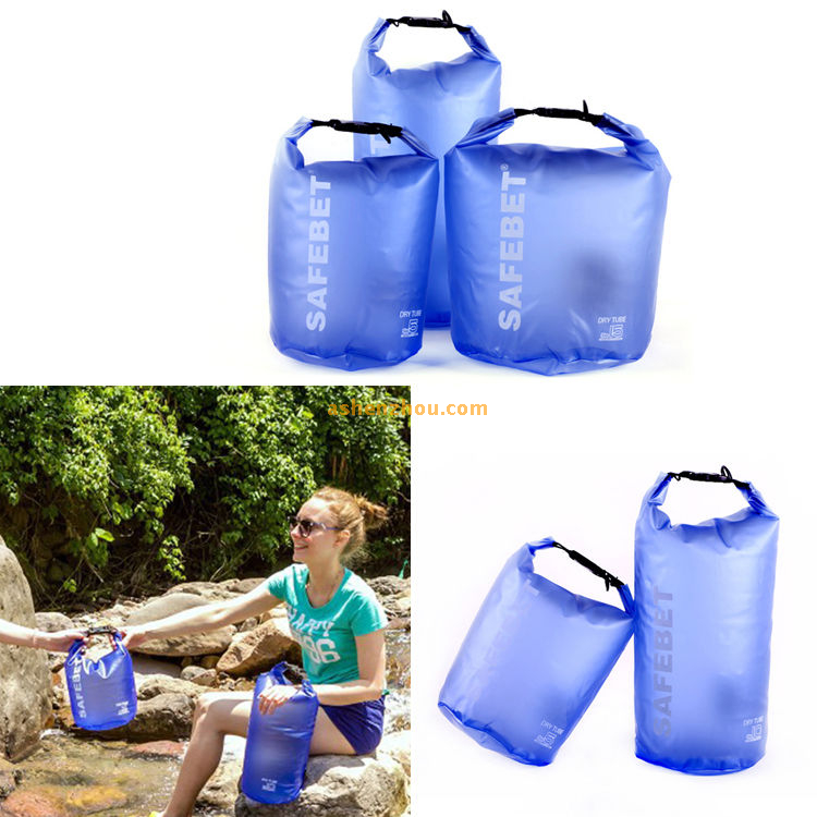 Durable floating backpack PVC dry bag, waterproof dry bag with backpack for swimming, drifting, boating, camping, kayaking