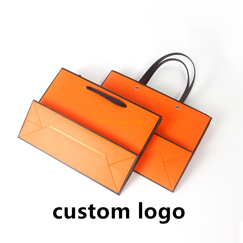 Special design nice price custom printing waterproof PP cover paper bag oem luxury paper shopping gift bag with handle