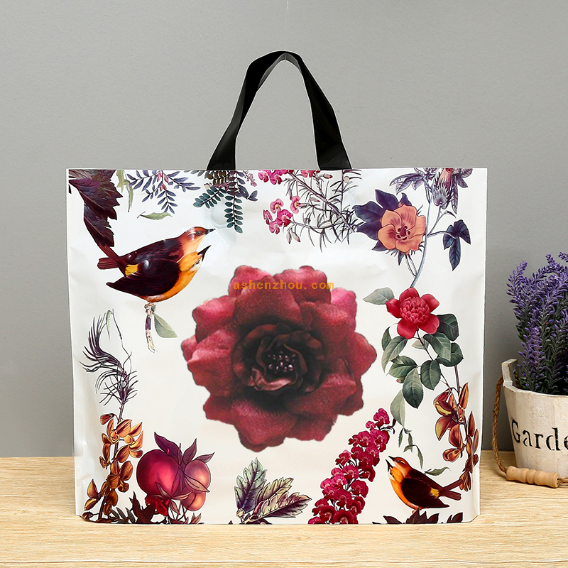 Wholesale good quality custom printing grocery eco shopping paper tote bag