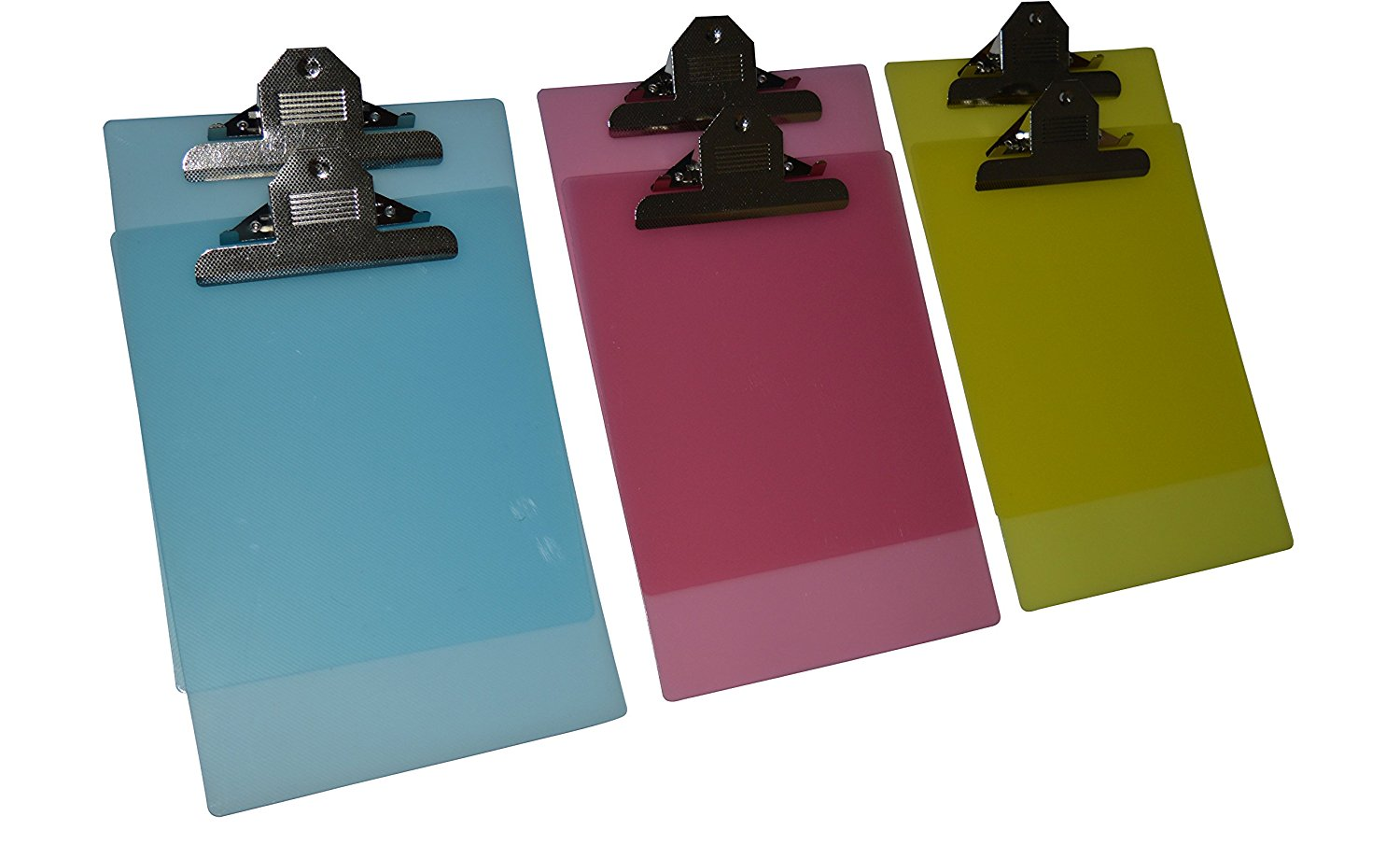 Hot selling promorionl cheap custom A4 transparent color flexible plastic clipboard for office /stationery