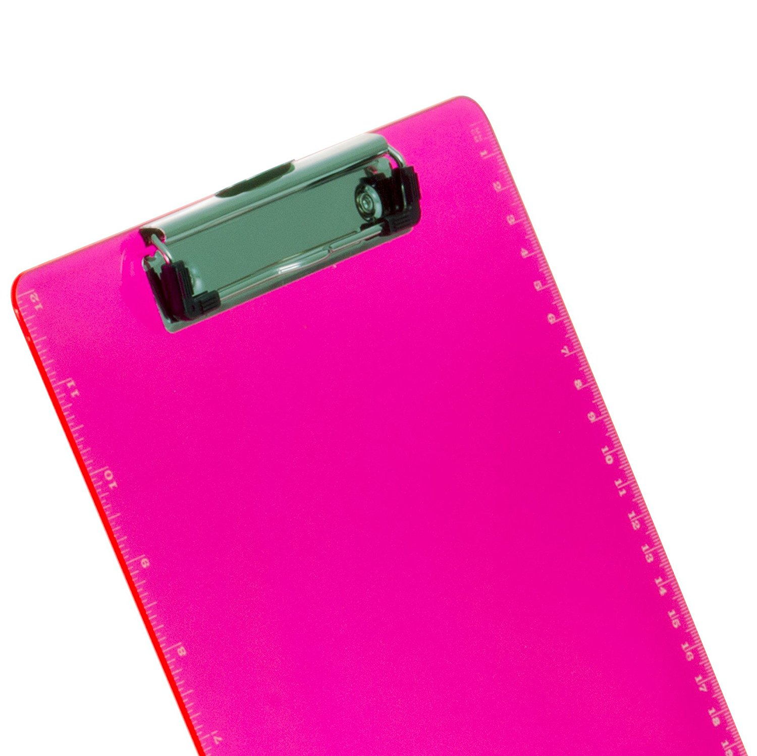 China supplier wholesales custom colorful A4 size durable plastic storage clipboard with metal cilp