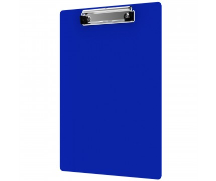 High quality stationery products custom A4 A5 size transparent plastic white cool clipboard with flat clip
