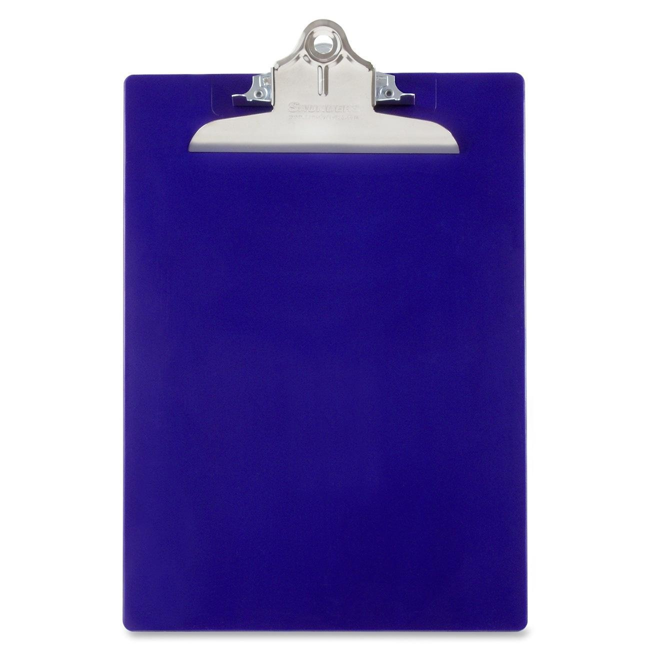 China wholesale custom waterproof transparent clear A4 A5 A6 durable folding clipboard with metal clip