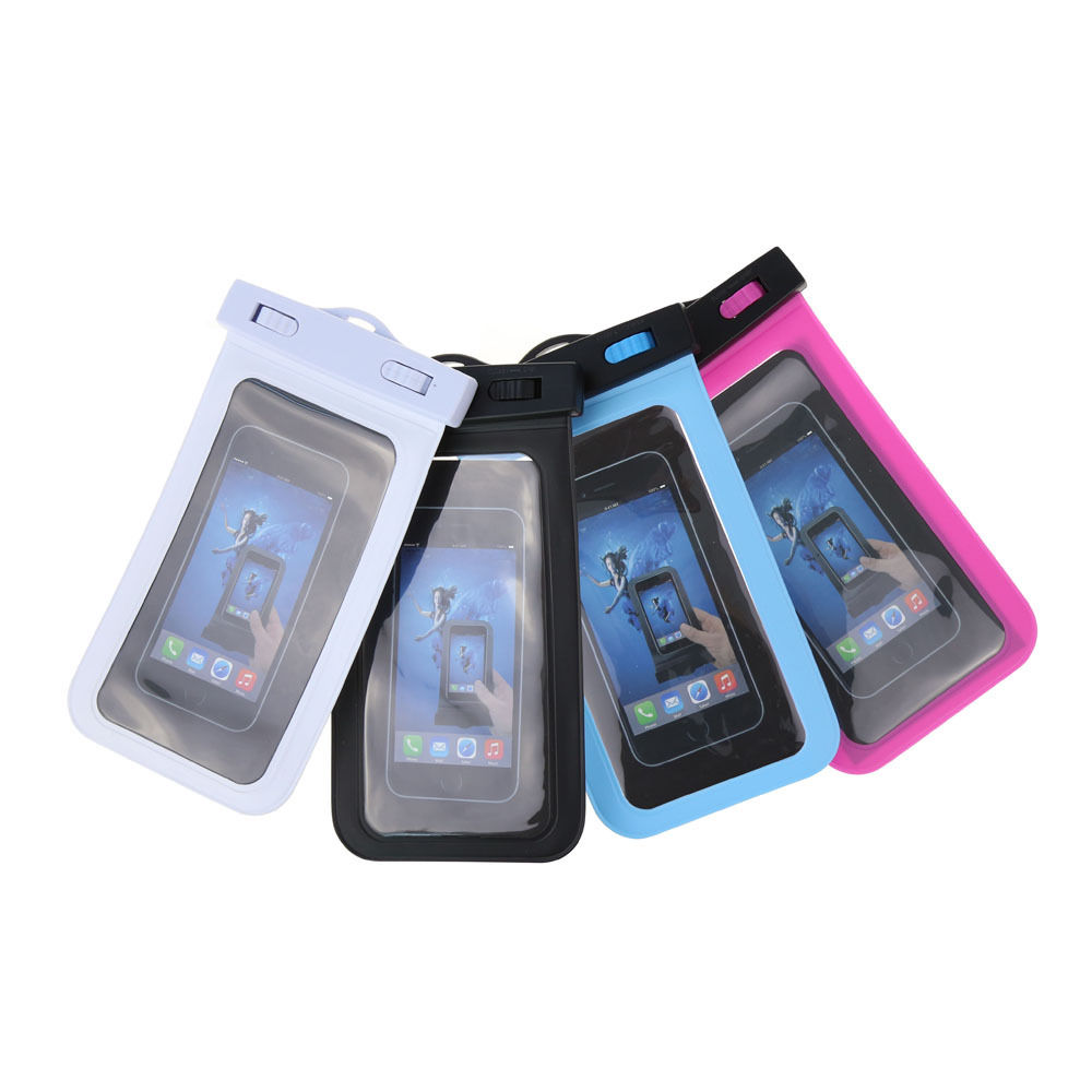 Sealed 100% waterproof phone case waterproof pouch phone case for mobile phone for iPhone 4 4s 5 5s 6 6s Plus Phone
