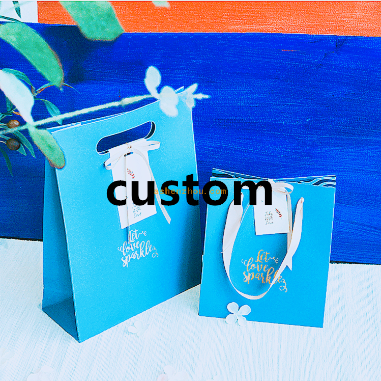 China cheap custom logo printing luxury gift foldable PP laminated eco friendly shopping paper bag