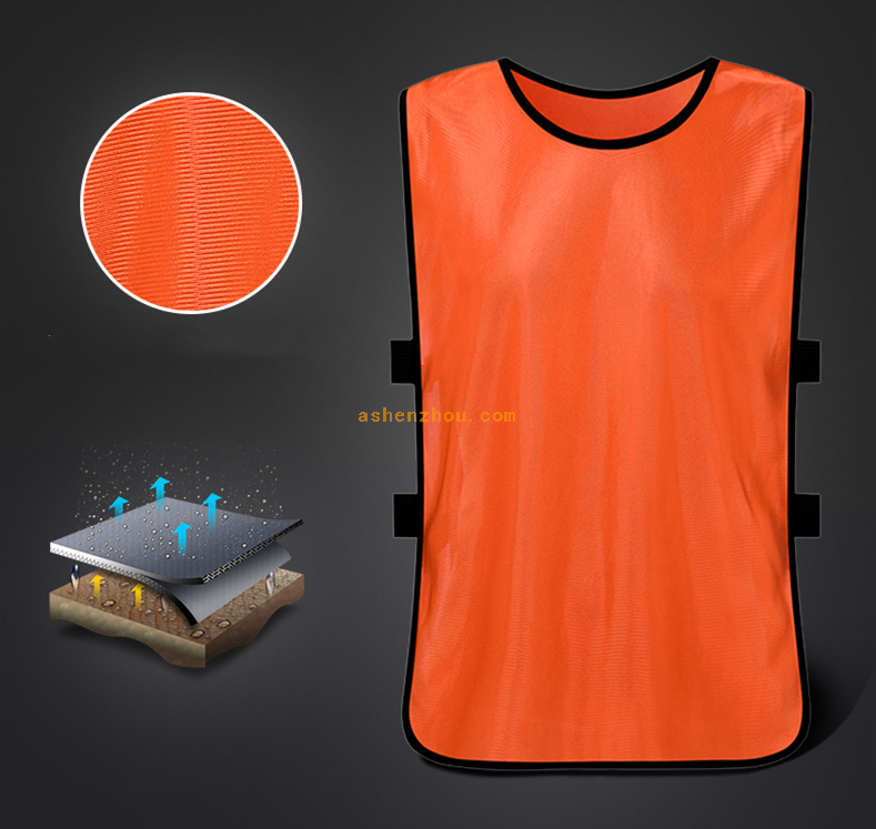 New style cheap custom team sportswear mesh soccer training bibs vest football vest bibs